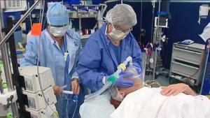 Anesthésie au bloc opératoire