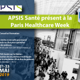 APSIS Santé exposant à la Paris Healthcare Week