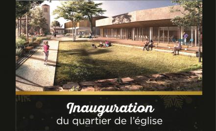 Inauguration du quartier de l'église à Bretignolles-sur-mer, un programme APSIS Santé